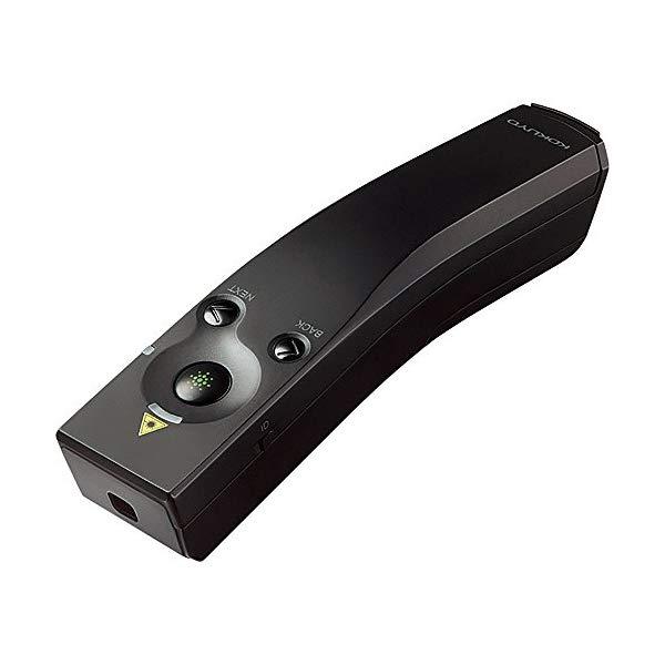 コクヨ レーザーポインター ELA-GU91N[パワーポイントページ送り機能付緑色光]マウス操作機能付