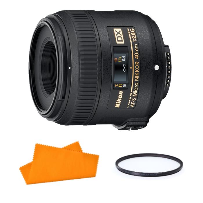 【★レンズフィルター&お手入れクロスセット!】Nikon 単焦点レンズ AF-S DX Micro NIKKOR 40mm f/2.8G