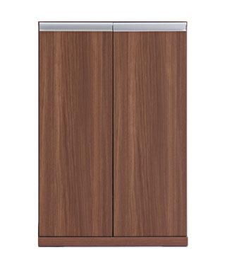 板戸キャビネット 60cm 食器棚 キッチン収納 完成品 収納庫 リビング 玄関 オフィス 大量収納 ストッカー キッチン ホワイト ウォールナット