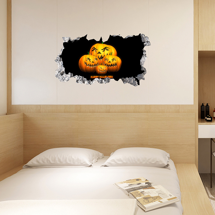 Homesweethome Halloween Wall Sticker 3d Decoration Seal