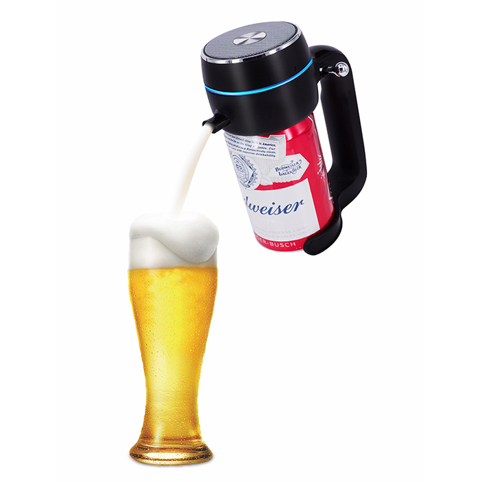 旨みを閉じ込めて 美味しさも長持ち 超音波式ハンディビールサーバー 限定特価 公式ストア ENERG 正規代理店 家庭用 泡立て 缶ビール用 ジョッキタイプ 極細泡 パーティーに最適T19-ENBR バッテリ付き 景品 クリーミー泡 父にプレゼント 内祝い ブラック ピクニック お祝い