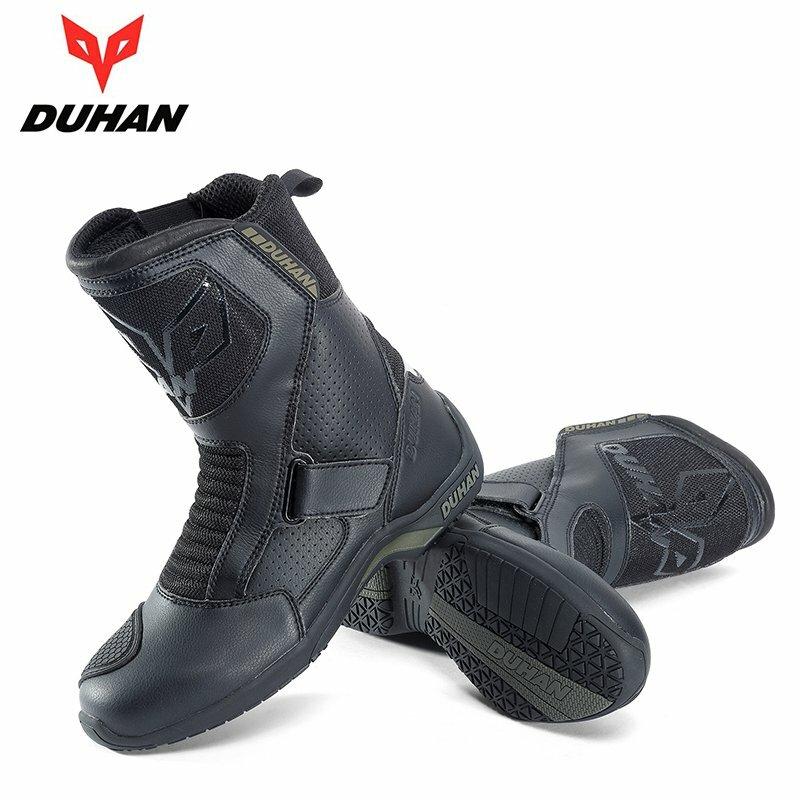 高い運動性と快適性 安全性を目指しています DUHAN ついに再販開始 バイクブーツ ライダーブーツ レーシングブーツ 防寒 防水 ロードブーツ 爆売りセール開催中 プロテクショ バイク ウェア