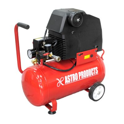 【油圧工具】 AP オイルレス エアコンプレッサー 25L RED  [アストロプロダクツ・ASTROPRODUCTS]