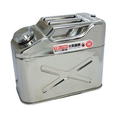 【補修部品・用品】 AP ステンレス ガソリン携行缶10L  [アストロプロダクツ・ASTROPRODUCTS]