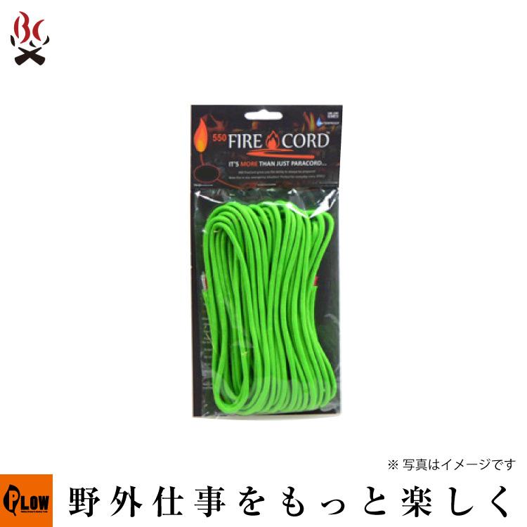Live Fire Gear 550 Fire Cord セーフティーグリーン1000ft