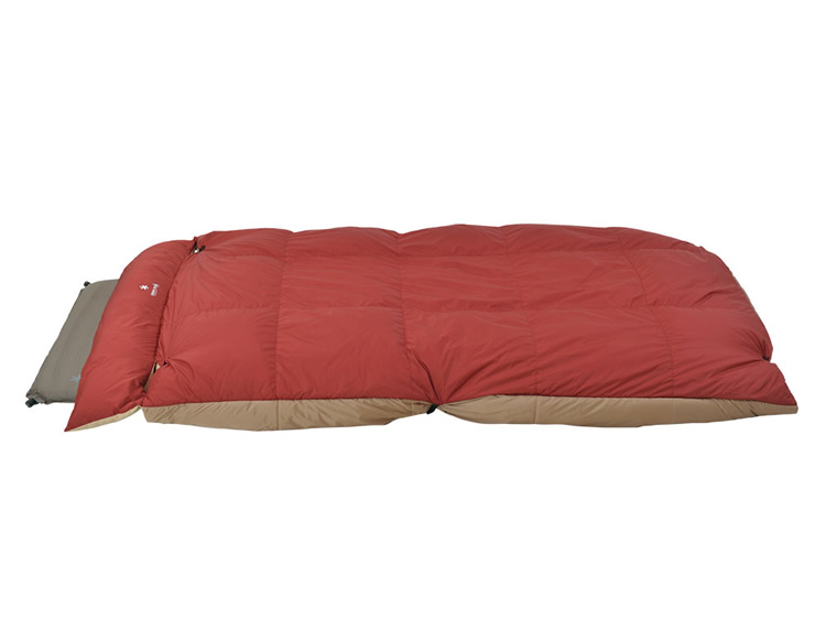 スノーピーク グランドオフトン シングル1000 【BD-050】【寝袋】【シェラフ】【レクタングラー型】