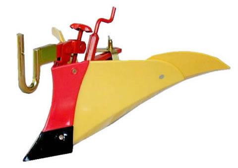 クボタ耕運機オプション TMA350、TMS30、TMA25用 ニューイエロー培土機〔尾輪付〕A 【91223-40410】【smtb-TK】