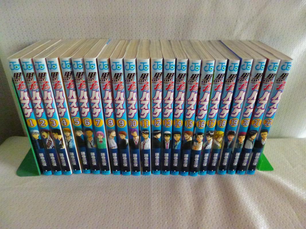 黒子のバスケ 全30巻+EXTRA GAME 全2巻+ビジュアルブック+ファンブック2巻セット(JC) /藤巻忠俊 /〈コミック〉【中古】afb