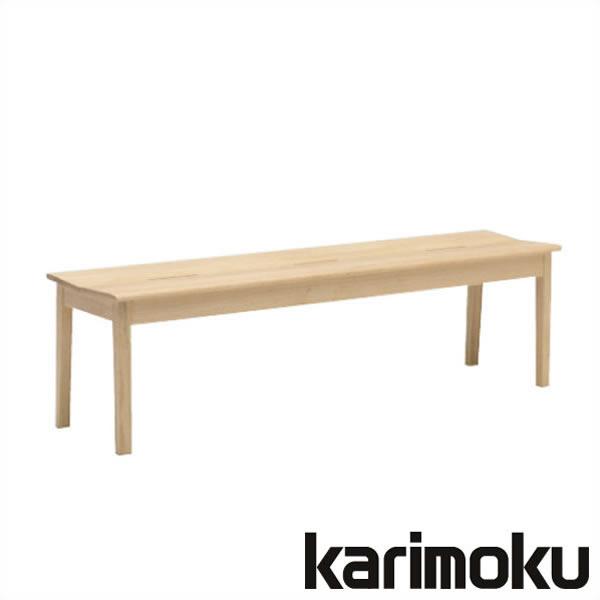 カリモク ベンチ CU4836