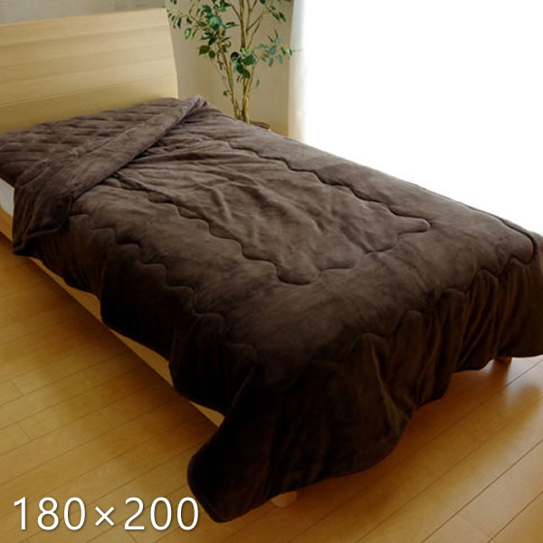 フランネル2枚合わせ毛布 フランIT 約180×200cm シングルサイズ 毛布 フランネル 多機能 抗菌 消臭 吸湿発熱 抗菌消臭 無地 洗濯機OK 洗える ベージュ ブラウン アイボリー ネイビー イケヒコ