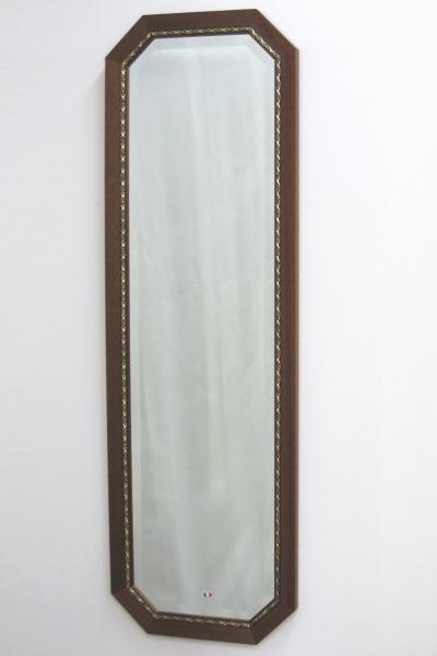 鏡 壁掛け 姿見 イタリア製 八角ミラー バロッコ 壁掛け鏡(壁掛けミラー/ウォールミラー)
