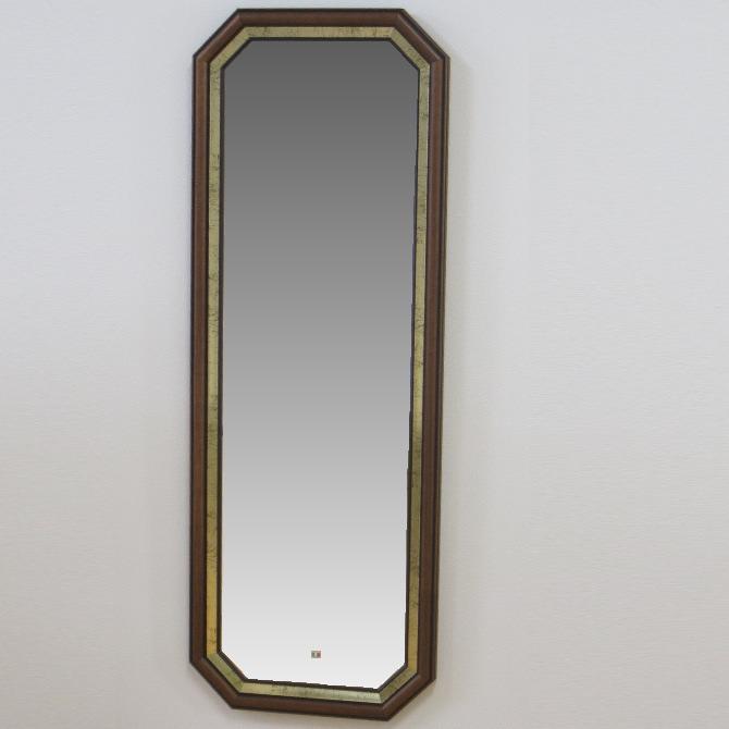 鏡 壁掛け 姿見 イタリア製 八角ミラー 808104 壁掛け鏡(壁掛けミラー/ウォールミラー)