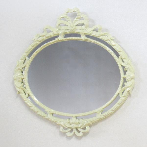鏡 壁掛け イタリア製 C493Wホワイト 壁掛け鏡(壁掛けミラー/ウォールミラー)