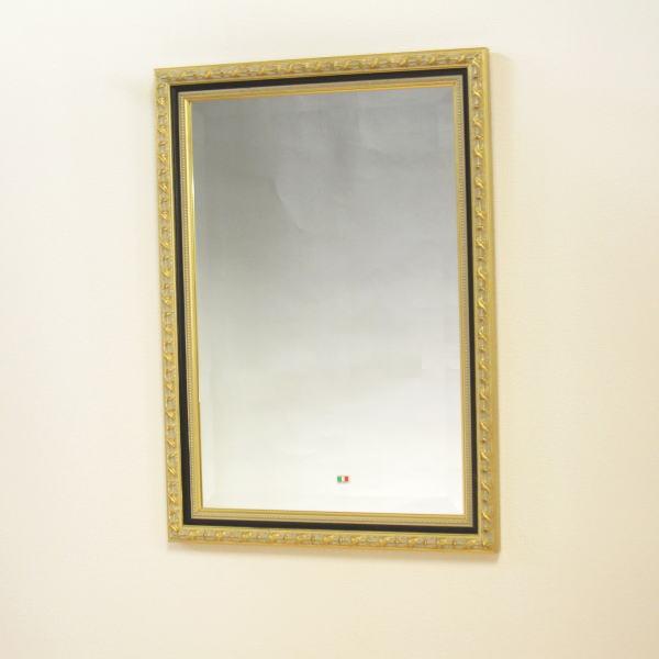 鏡 壁掛け イタリア製 角ミラー 808436 壁掛け鏡(壁掛けミラー/ウォールミラー)