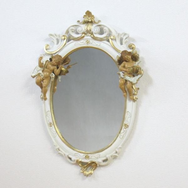 鏡 壁掛け イタリア製 C445SBA 壁掛け鏡(壁掛けミラー/ウォールミラー)