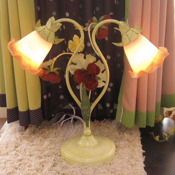 テーブルライト/テーブルランプ 花 ST46-2 2灯