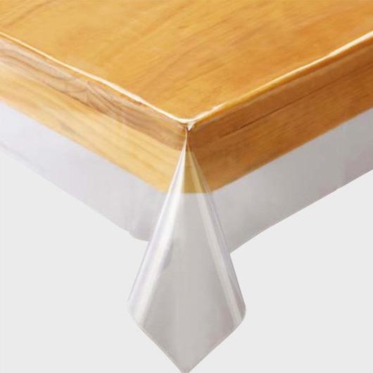 売買 テーブルの汚れや傷を守るビニールテーブルクロス テーブルクロス 25%OFF ビニール 透明ビニールクロス 撥水 正方形 150×150cm