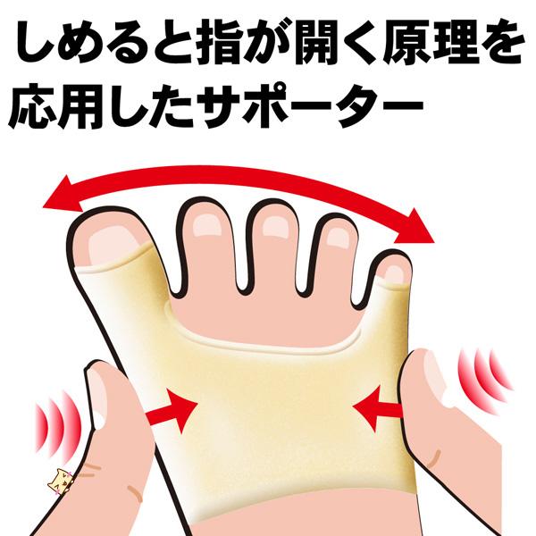 カサハラ 外反母趾・内反小指サポーター 左右セット 【アルファックス】 (外反母趾サポーター) 【あす楽対応】