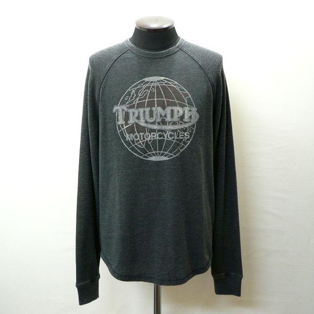 ラッキーブランドの新作Tシャツが入荷しました あす楽対応 祝日 BRANDTRIUMPHラッキーブランドトライアンフ袖サーマルプリントTシャツ7MDG0223正規SHOP仕入れアメリカ買い付け商品 LUCKY 選択