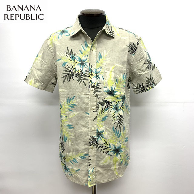 バナナリパブリックのオシャレなリネンシャツが入荷しました あす楽対応 BANANA REPUBLICLINEN SLIM SHIRTS SALE 激安格安割引情報満載 FITバナナリパブリックリネンシャツアロハシャツスリムフィットバナリパ 正規アメリカ買い付け