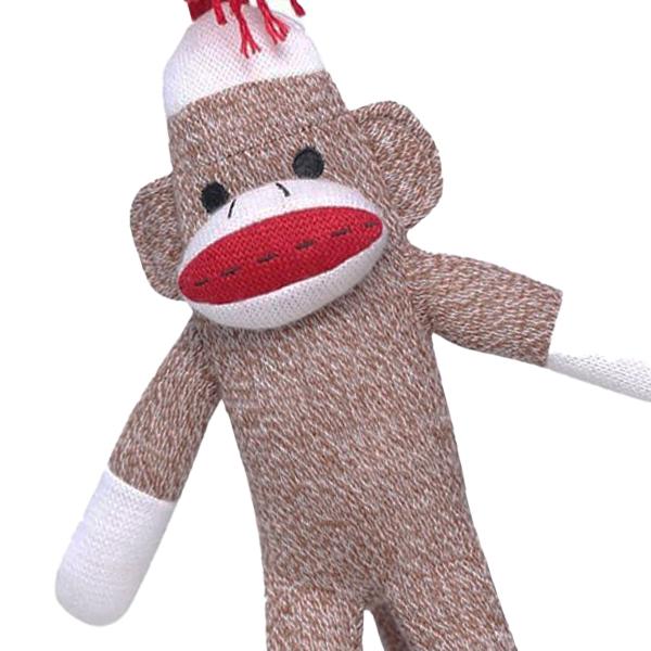 かわいくてブサイクな靴下のおさるさん ソックモンキー Sock Monkey ぬいぐるみ 本日の目玉 靴下のお猿さん おさる サル 編みぐるみ 約37cm クラシック ボーイズ キッズ トラディショナル おもちゃとして 有名な 女の子 ガールズ NEW 子供 男の子 ベビー またインテリアにもおすすめ