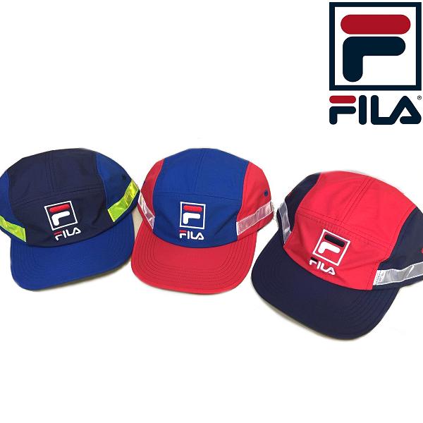 FILA フィラ ヘリテージ 5パネル 男女兼用 帽子 マーケット リフレクターキャップ ユニセックス 早割クーポン