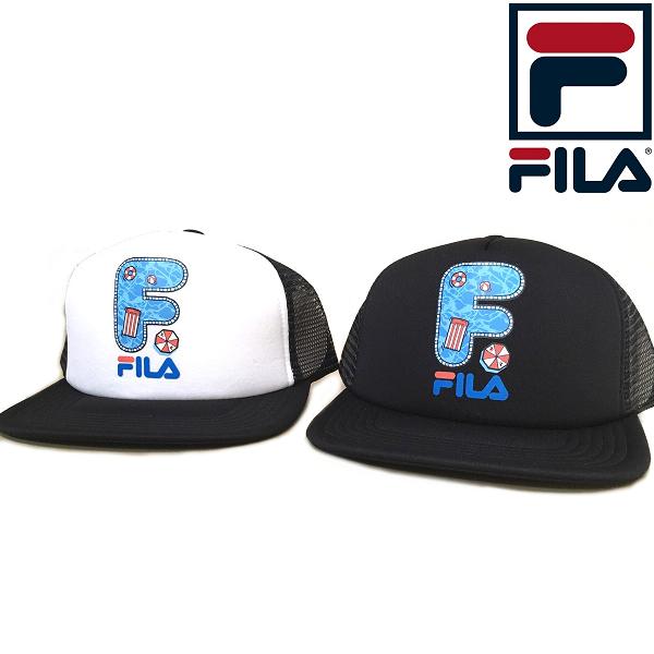 FILA フィラ ヘリテージ トラッカーキャップ 男女兼用 買物 激安格安割引情報満載 メッシュキャップ ユニセックス