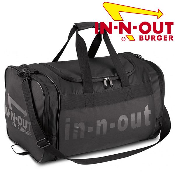 カリフォルニア発のハンバーガーショップ オリジナルグッズ 送料無料 最新 In-N-Out Burger イン アンド アウト バーガー ボストンバッグ トラベルバッグ ダッフルバッグ 荷物の多い時に カリフォルニアで人気のハンバーガーショップのグッズです おすすめ 合宿 西海岸 旅行 アメリカ