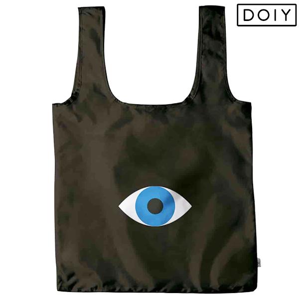 お買い物に サブバッグに DOIY ドーイ ランキングTOP10 ゴー グリーン 買い物袋 エコバッグ お買い物バッグ 目がデザインされたショッピングバッグ アイ マイバッグ マート