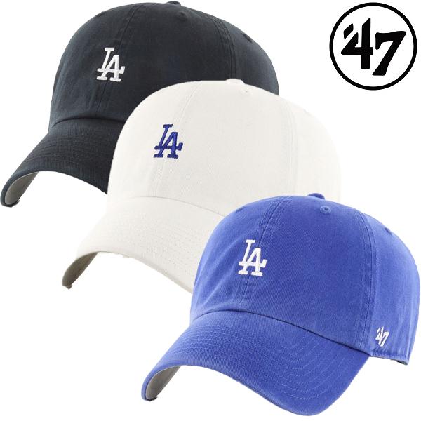 '47 フォーティーセブン ドジャース ベースランナー クリーンナップ キャップ ロサンゼルス LA 帽子 ユニセックスメンズ 男女兼用 野球帽 レディース 3色 ショップ ウォッシュド ミニロゴ 高級