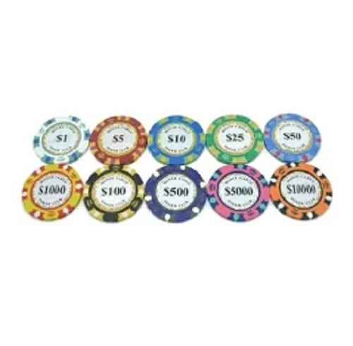 売れてます☆全国送料無料 ゴルフ グリーンマーカー ポーカー カジノ チップ 40%OFFの激安セール おすすめ ラウンド用品 10枚セット マーカー