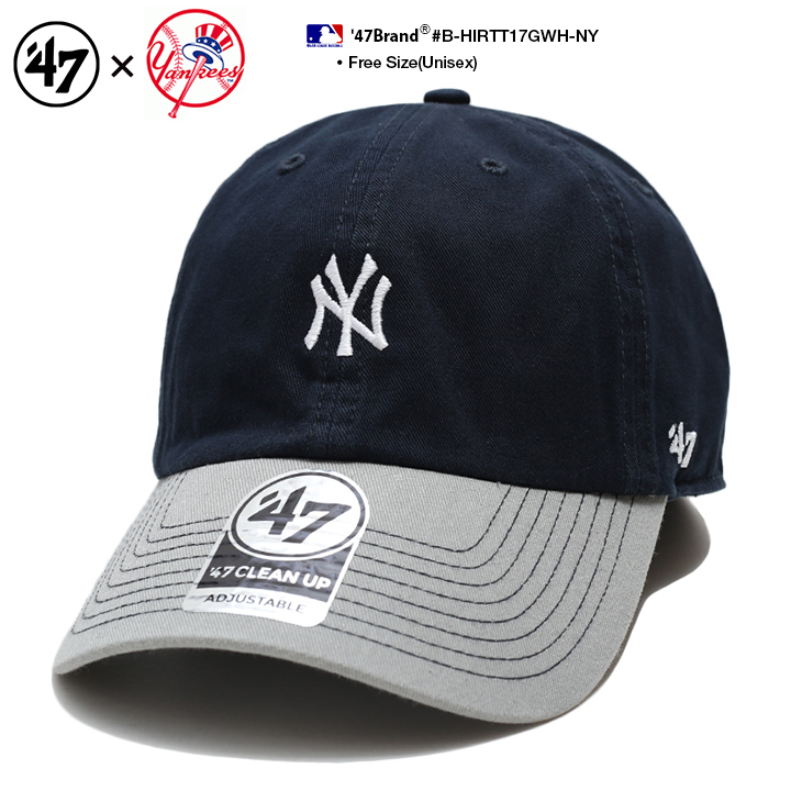 Fサイズ 激安通販 ランキング1位獲得 スーパーセール限定特価 47 キャップ ニューヨークヤンキース メンズ レディース 春夏秋冬用 紺 MLB ヤンキース NY ベースボールキャップ ローキャップ フォーティセブン ストリート系 ロゴ 商舗 浅め cap おしゃれ B-HIRTT17GWH-N ヒップホップ 47brand かっこいい 帽子