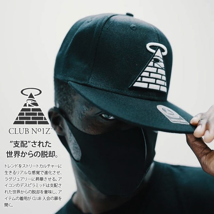 b series street of hip hop fashion mens ladies snap back Cap CLUB NO1Z    Club noise «WORLDTRIBE CAP» men and women and for 3D embroidery CAP black ◇  ◇ ◇ 1677dcb6ce1f