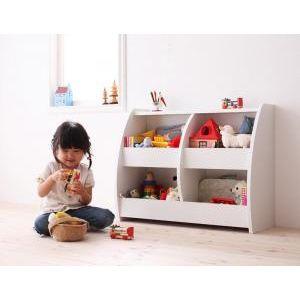 ●ポイント4.5倍●【CREA】クレアシリーズ【おもちゃ箱】幅76cm [00]