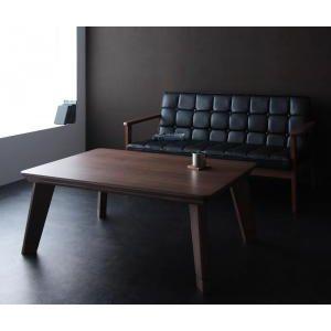 ●ポイント5倍●モダンデザインフラットヒーターこたつテーブル【Valeri】ヴァレーリ/長方形(105×75)[1D][00]