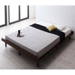 ●ポイント5.5倍●デザインすのこベッド Resty リスティー スタンダードポケットコイルマットレス付き ナローステージ ダブル フレーム幅160[L][00]