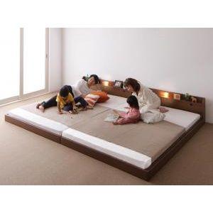 大注目 ポイント増量中 ポイント4.5倍 親子で寝られる棚 照明付き連結ベッド 登場大人気アイテム JointJoy ジョイント 4D ワイドK190 ボンネルコイルマットレス付き ジョイ 代引不可 00