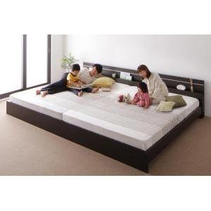 ●ポイント5倍●親子で寝られる・将来分割できる連結ベッド JointEase ジョイント・イース ポケットコイルマットレス付き ワイドK260(SD+D)[4D][00]