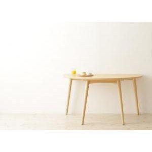 ●ポイント5.5倍●天然木半円テーブルダイニング【Mond】モント/テーブル [00]