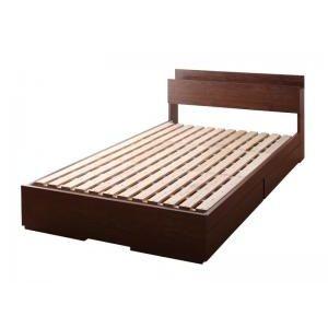 ●ポイント4.5倍●棚・コンセント付き収納ベッド Arcadia アーケディア ベッドフレームのみ すのこ仕様 シングル[L][00]