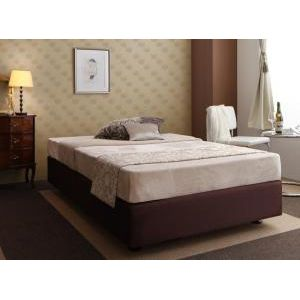 ●ポイント4.5倍●ホテル仕様デザインダブルクッションベッド【ボンネルコイルマットレス】 シングル[4D][00]