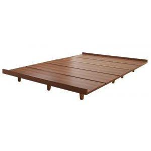 ●ポイント4.5倍●デザインボードベッドBona ボーナ ベッドフレームのみ 木脚タイプ セミダブル[L][00]