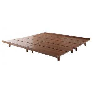 ●ポイント4.5倍●デザインボードベッド Bibury ビブリー ベッドフレームのみ 木脚 ワイドK200 フレーム幅200[L][00]