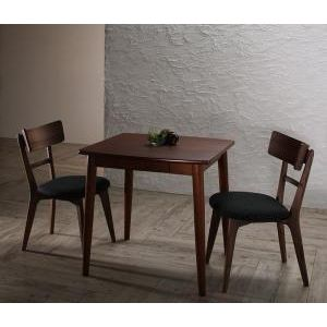 ●ポイント5倍●モダンデザインダイニング Le qualite ル・クアリテ 3点セット(テーブル+チェア2脚) W75[00]