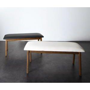●ポイント5倍●モダンデザイン スライド伸縮テーブル ダイニングセット Jamp ジャンプ ベンチ 2P[00]