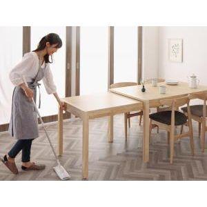 ●ポイント5.5倍●北欧デザイン スライド伸縮テーブル ダイニングセット SORA ソラ ダイニングテーブル W135-235[L][00]