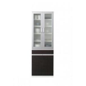 ●ポイント6.5倍●開梱サービスなし 奥行41cmの薄型モダンデザインキッチン収納 Sfida スフィーダ 食器棚[4D][00]
