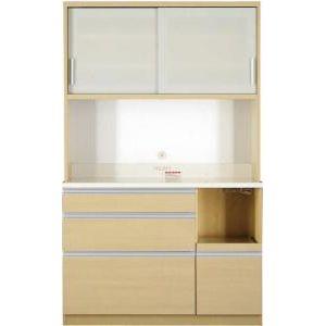 ●ポイント5倍●組立設置 大型レンジ対応 清潔感のある印象が特徴のキッチンボード Ethica エチカ キッチンボード 幅120 高さ193[4D][00]
