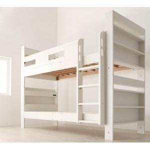●ポイント5倍●クイーンサイズベッドにもなるスリム2段ベッド Whenwill ウェンウィル ベッドフレームのみ スタンダード クイーン[L][00]