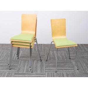 ●ポイント5倍●多彩な組み合わせに対応できる 多目的オフィスワーク CURAT キュレート オフィスチェア 4脚組(単品)[4D][00]